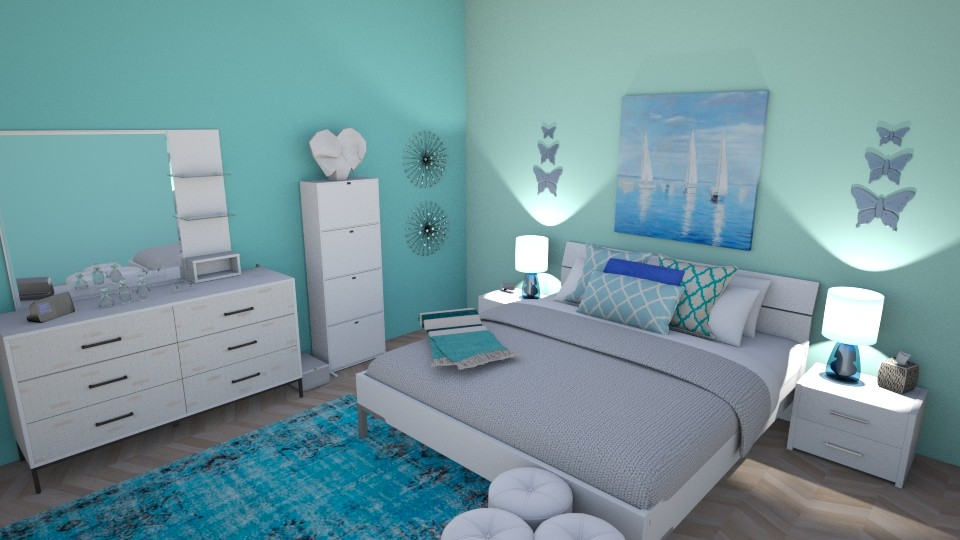 Nautical Win - Modern - Bedroom - by RaeCam
