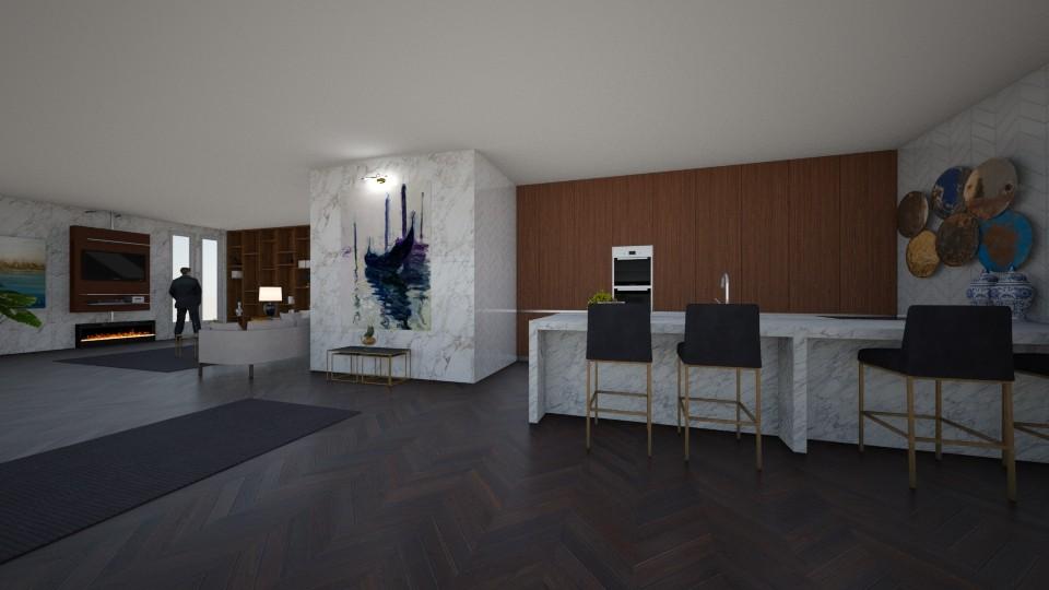 Aty - Living room - by sephara