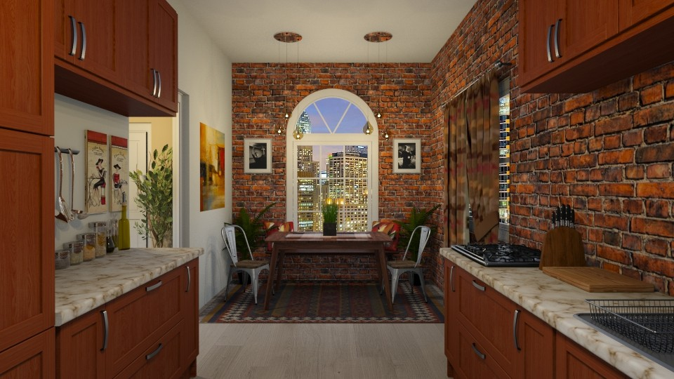 Chicago Dining  - Rustic - Dining room - by Kendal Peterson
