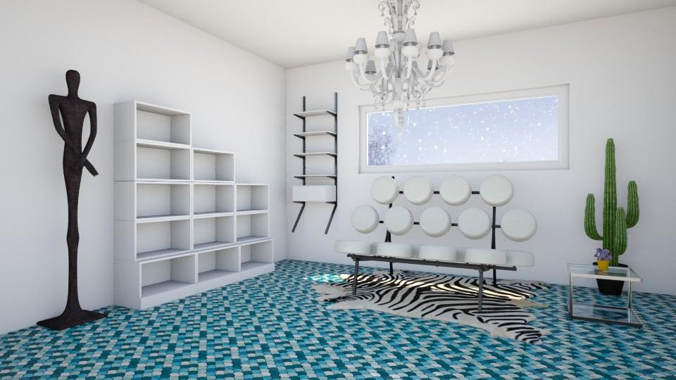 White Tight - Living room - by Agni Samil