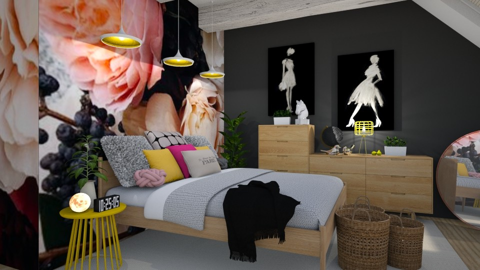 flower power - Bedroom - by MiaM