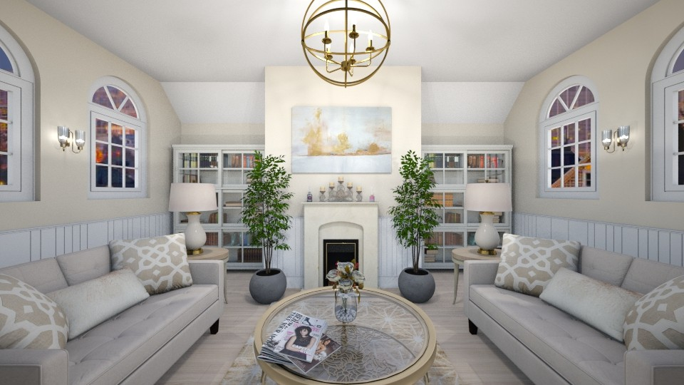 Cozy Living Room 3 - Living room - by elle rose