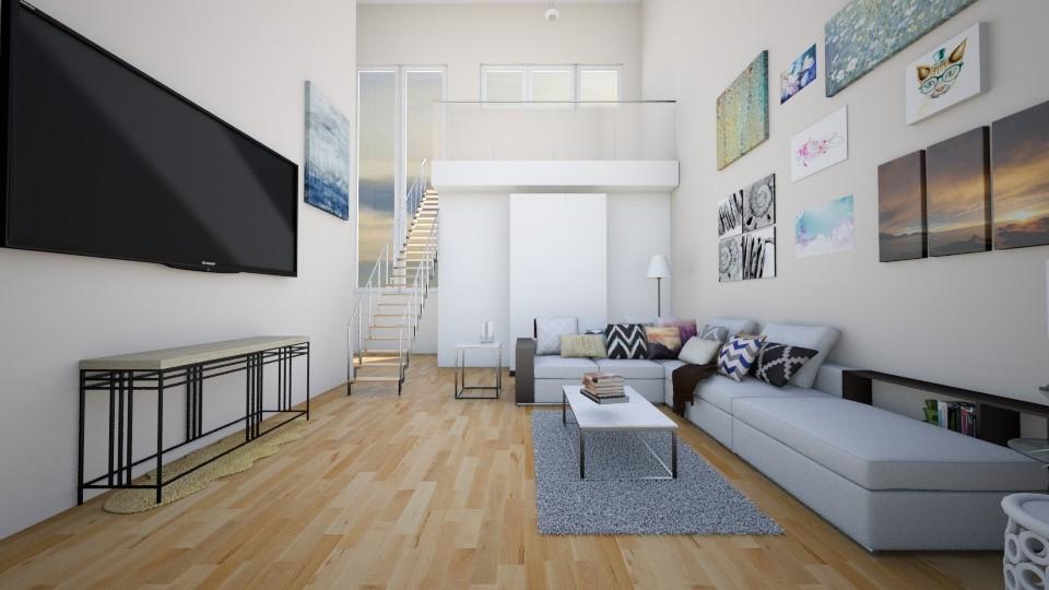 Modern Living Room - Modern - Living room - by CatLover0110