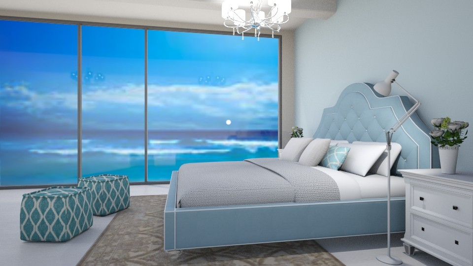 Sleepin at the Beach - Bedroom - by millerfam