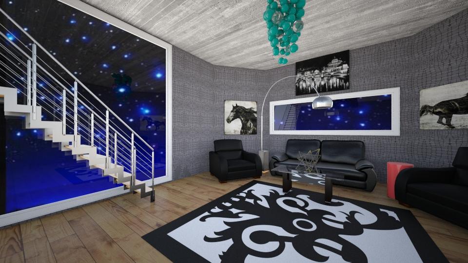 the livingroom 2 - by Dasha Chukalovskaya