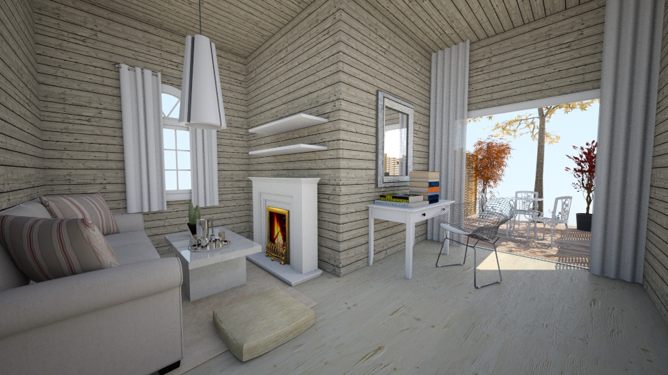 Cottage - Living room - by anamarija00