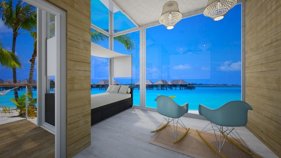 Beach Bedroom - Bedroom - by GinnyGranger394