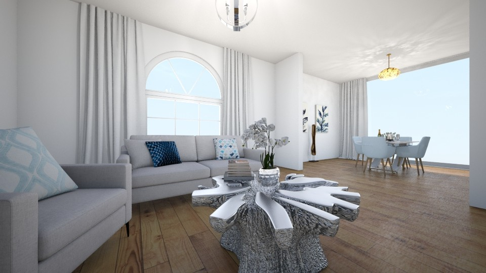 simply me - Living room - by andani