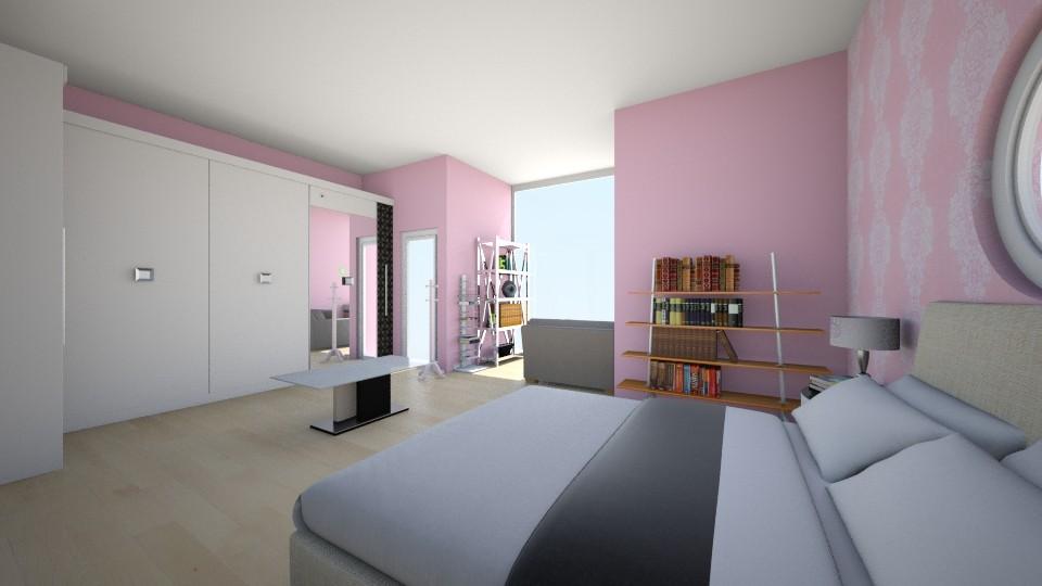 Habitacion Irune - Bedroom - by saioamerillas