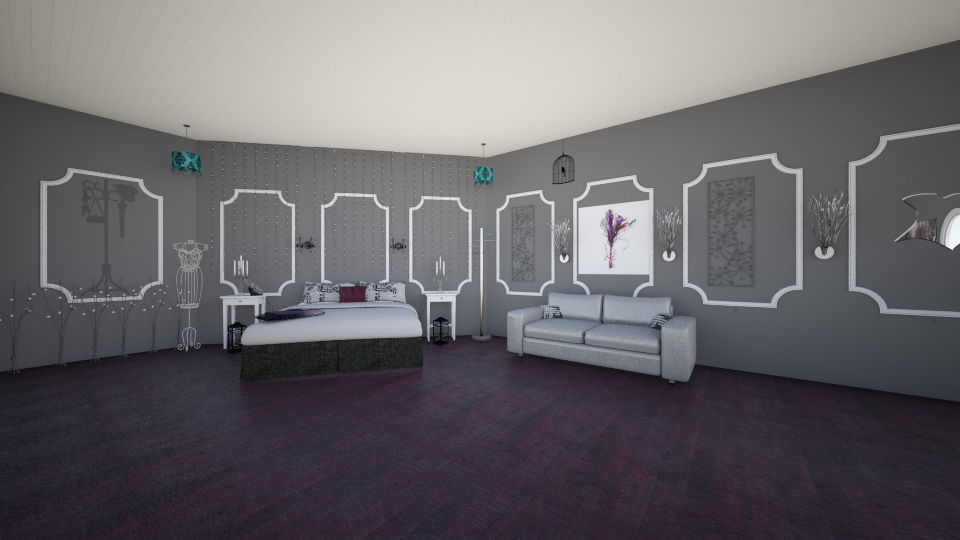 gothic chic - Retro - Bedroom - by mgirl