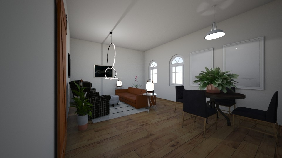 plad  - Living room - by emmakatherinee