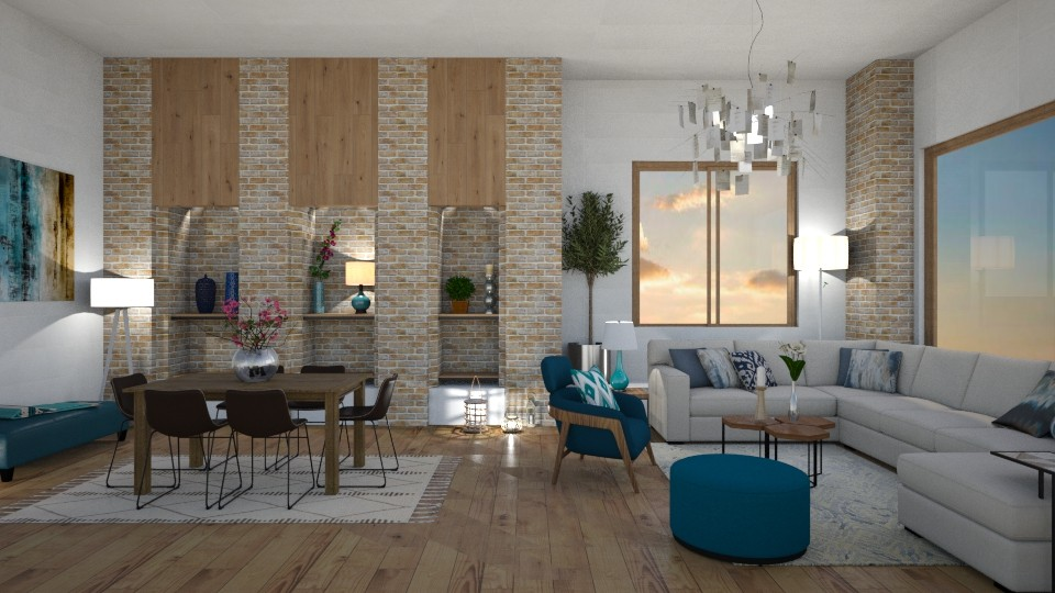 Aprrt - Modern - Living room - by mari mar