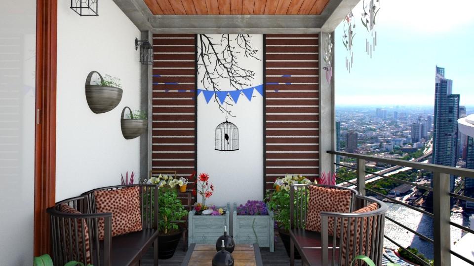 Balcony II - by Alejandra Urq