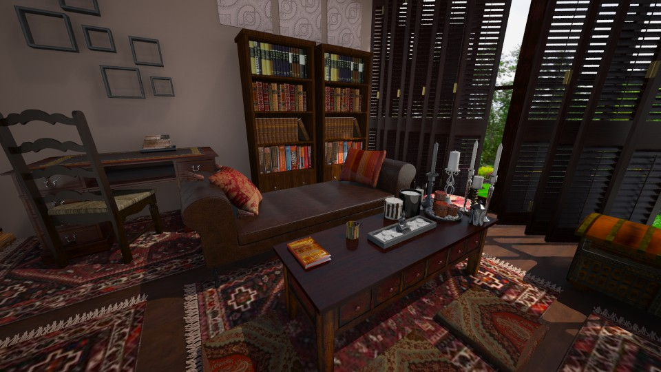 Living room India - Living room - by Keliann