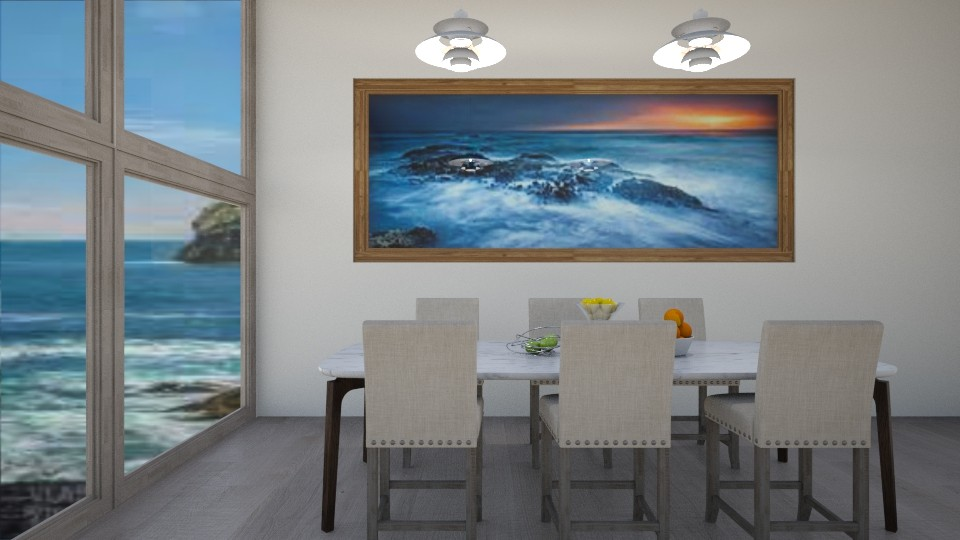 Dining by the Sea - Eclectic - Dining room - by millerfam