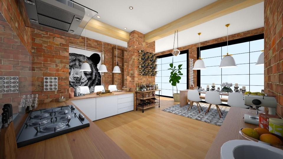 Kitchen Diner - Modern - Kitchen - by camilla_saurus
