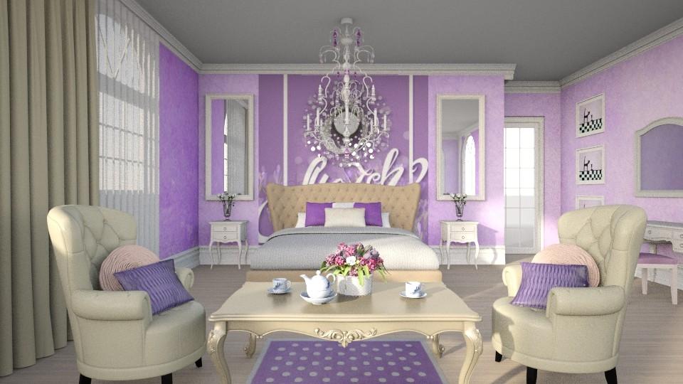 8u0 - Bedroom - by Dorrit