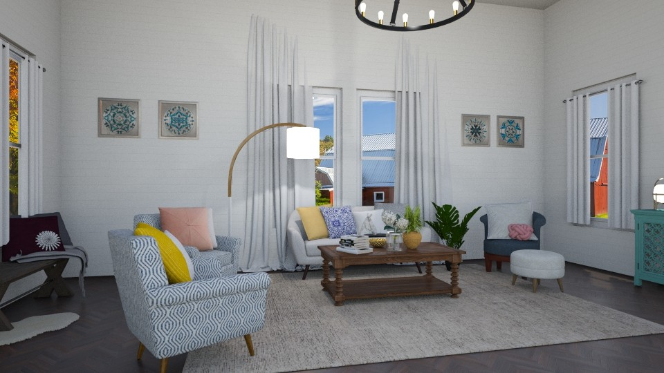PetLo Alpaca Living Room - Living room - by smithpetraf