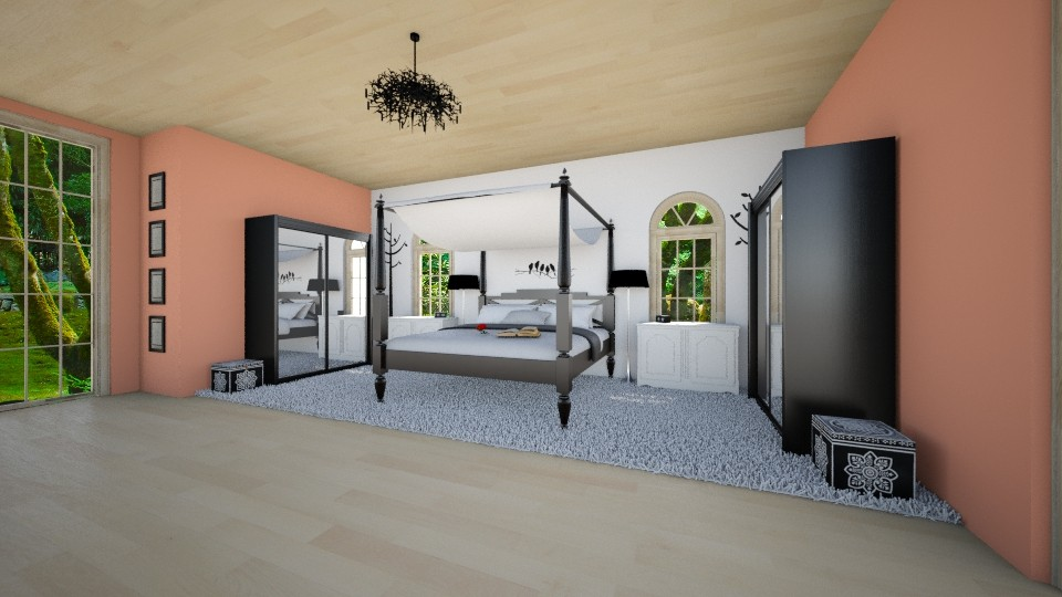 Holidays bedroom  - Feminine - Bedroom - by Maja Elisa