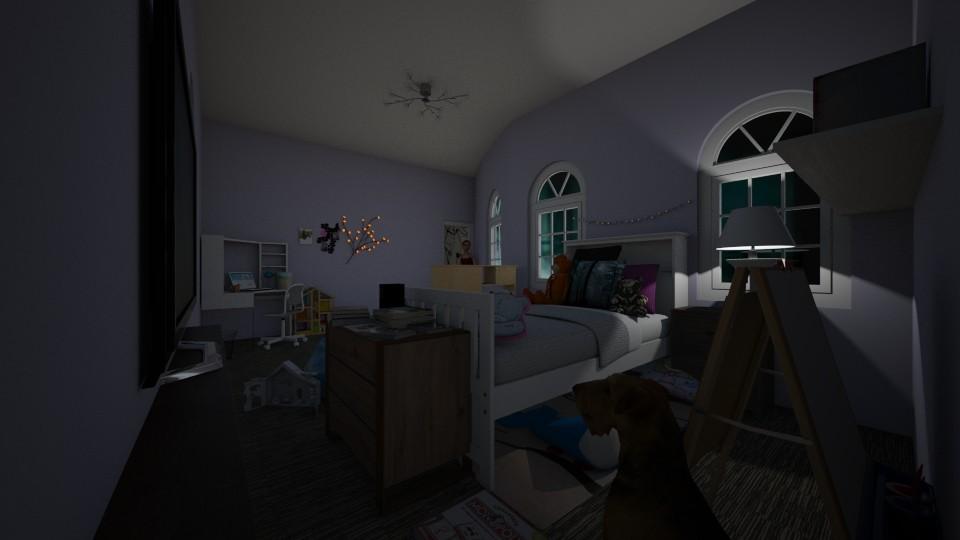 Young girl bedroom - Modern - Kids room - by kebab123