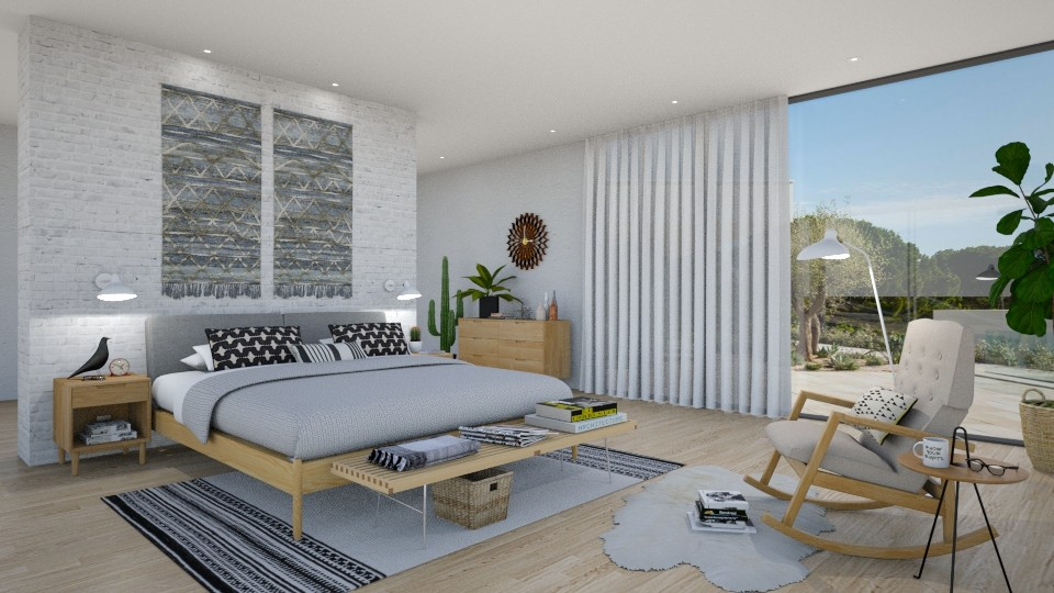 bedroom - Modern - Bedroom - by Valkhan