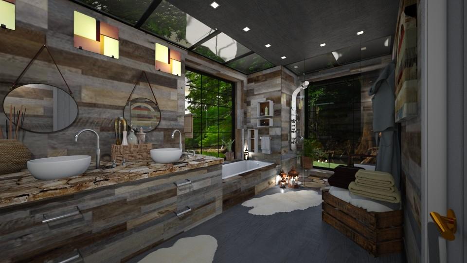 Rustic Bath - by Lackew