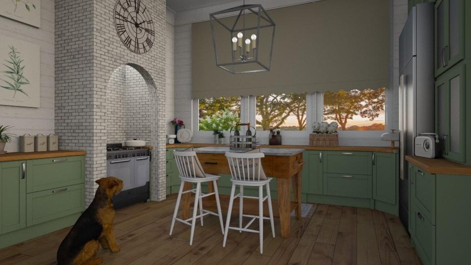 6 - Kitchen - by Katie Whitley