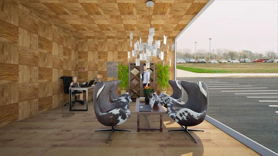 School Lounge - by gtenenbaum