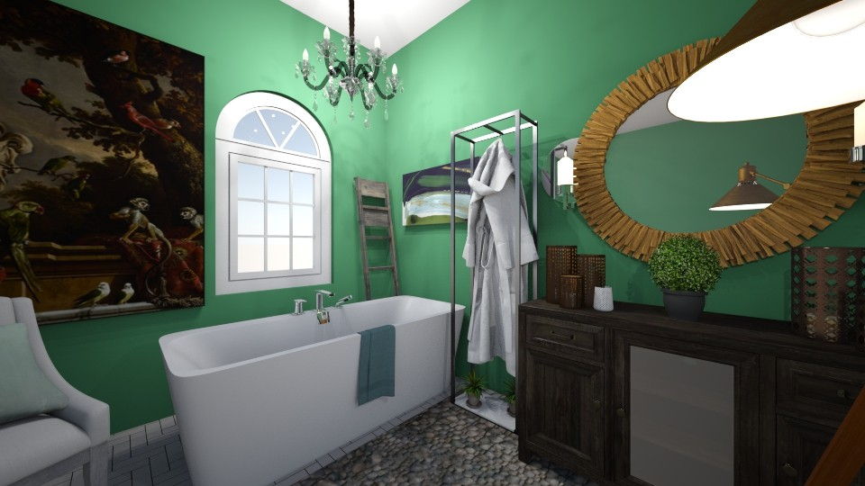 Chic with Envy - Bathroom - by iampebbles