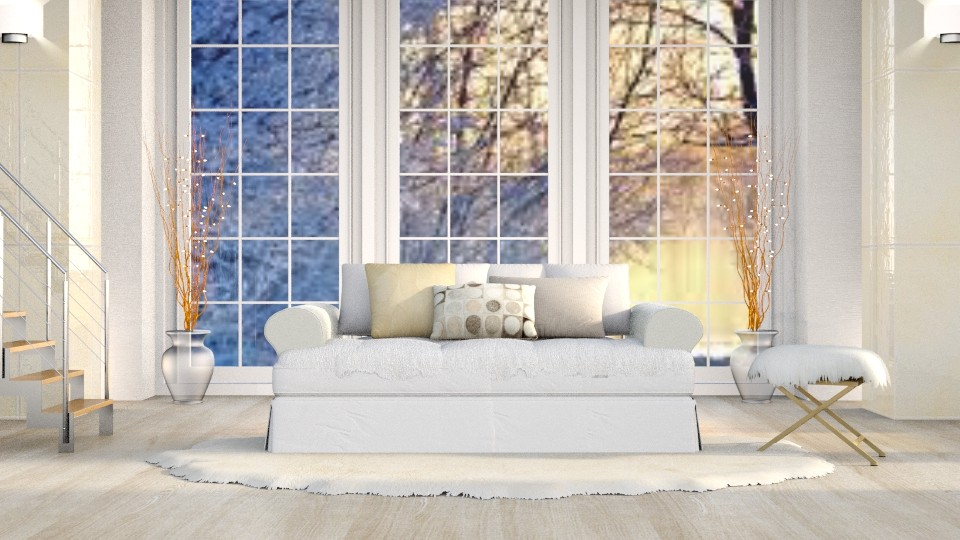 Gold Winter - Classic - Living room - by millerfam