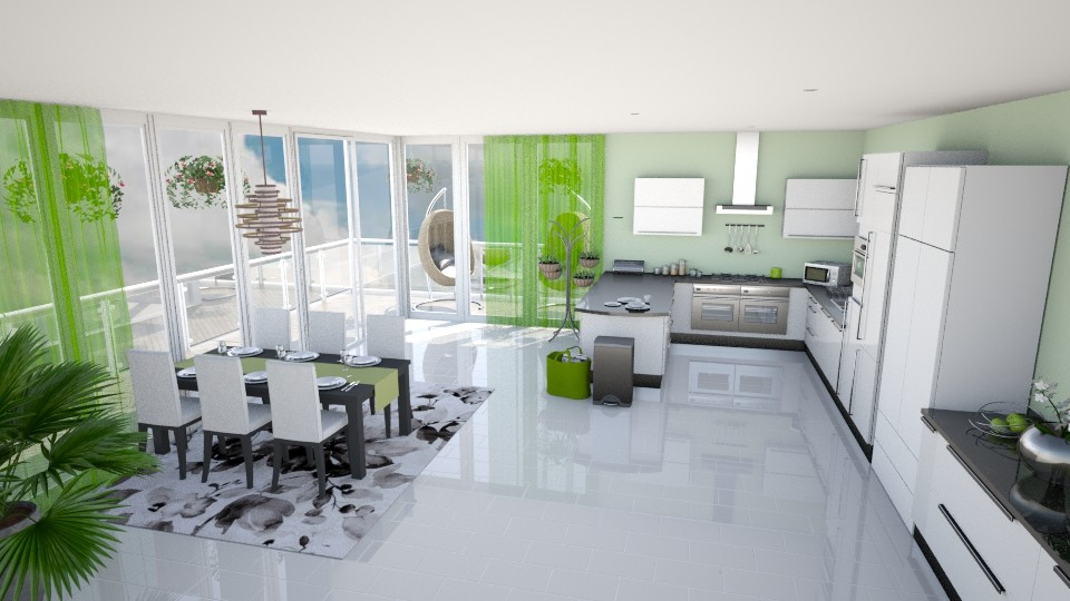 Nature Inspired  - Kitchen - by Shelley_1
