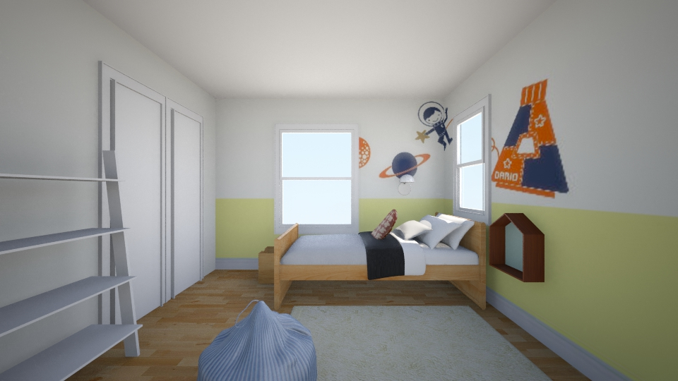 tj kid - Kids room - by andykz