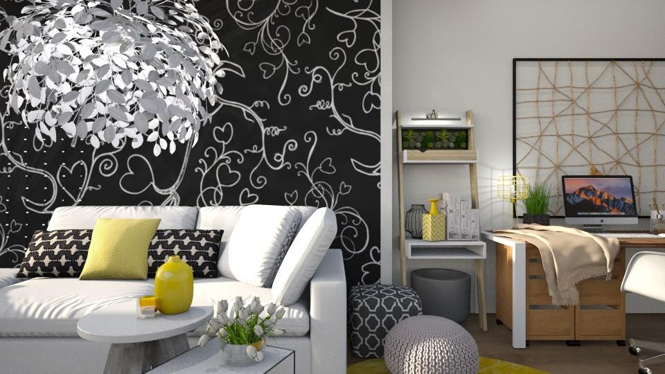 Autumn Office Deco - Office - by Vlad Silviu