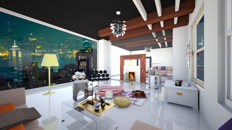 Quite Cozy - Living room - by tvirandie