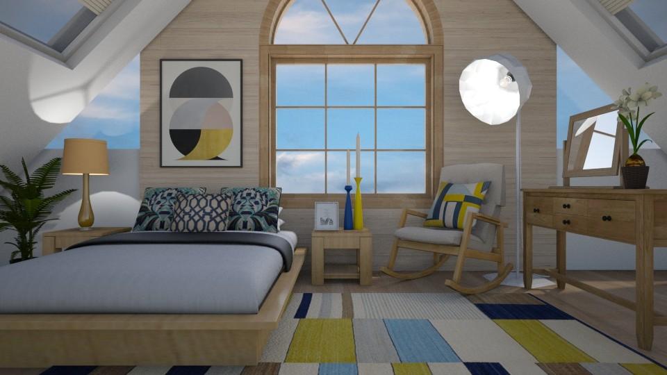 attic - Minimal - Bedroom - by mari mar
