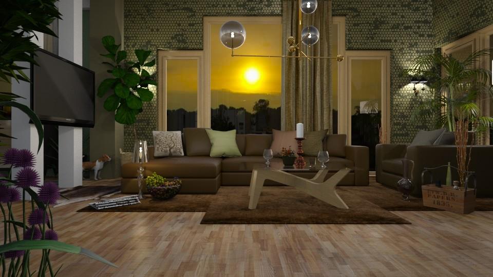 Green_brown living - by ZsuzsannaCs