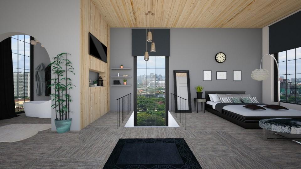 En Suite Loft - Living room - by hannahglass