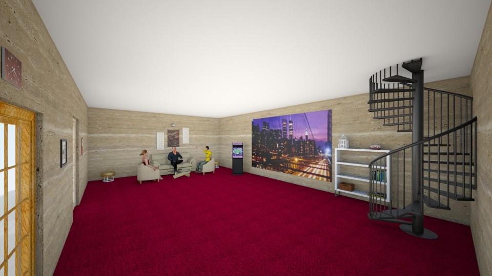 part 4 - Modern - Living room - by Afreen Badal