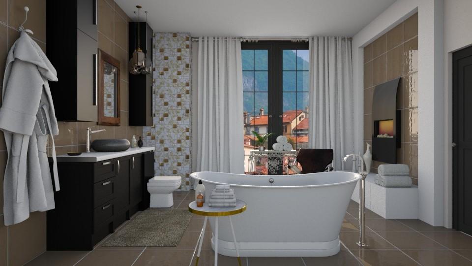 Contemporary Elegance - Modern - Bathroom - by janip