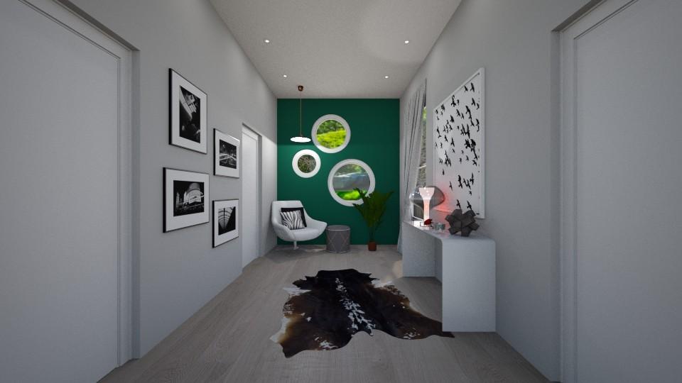 Hallway - by JarvisLegg