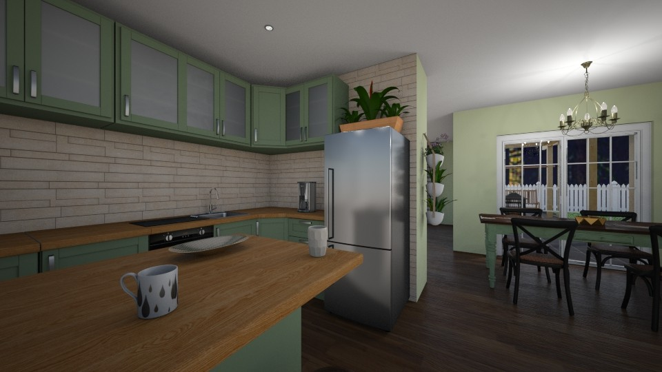 Kitchen - by RhonaFiles