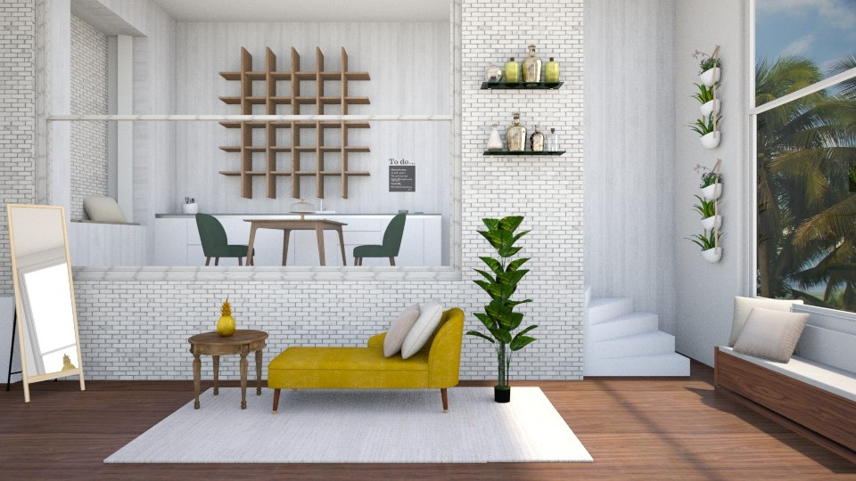 Color Living - Living room - by seasidepine