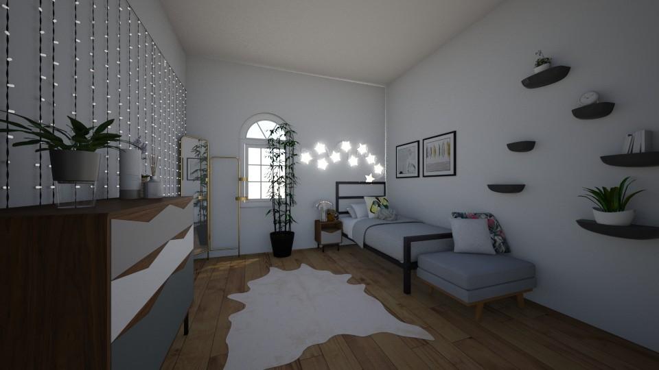 greenery - Bedroom - by emmakatherinee