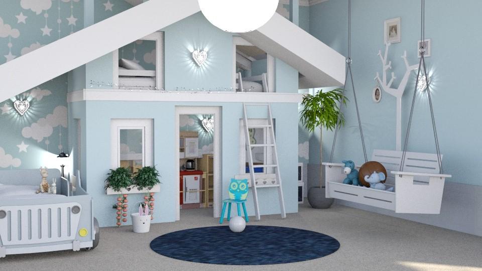 kids room - Bedroom - by soralobo