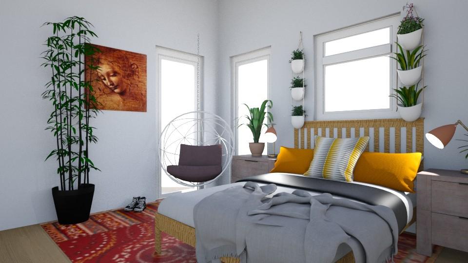 BOHEMIAM BEDROOM  - Bedroom - by ham_n_lid
