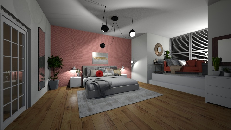 appartment bedroom - by megan24k