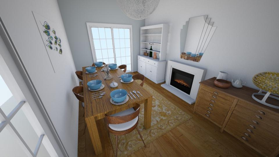 210 Whitefoot Lane - Dining room - by rachelbbridge