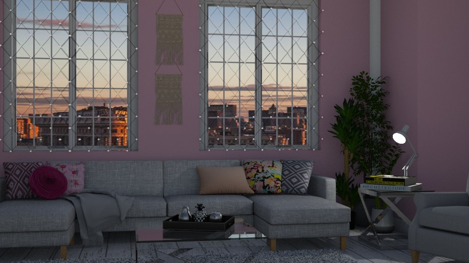 Pink apartment - by Jean Paul Gallardo