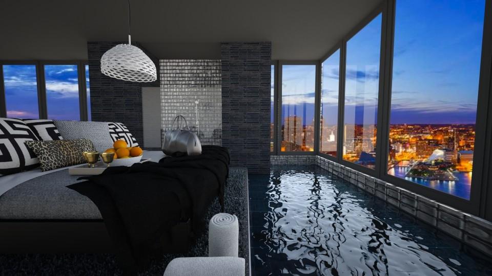 Good Night Harbor - Glamour - Bathroom - by bgref