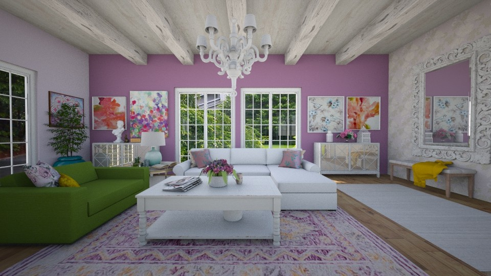 Spring Cottage - Living room - by R2krw09